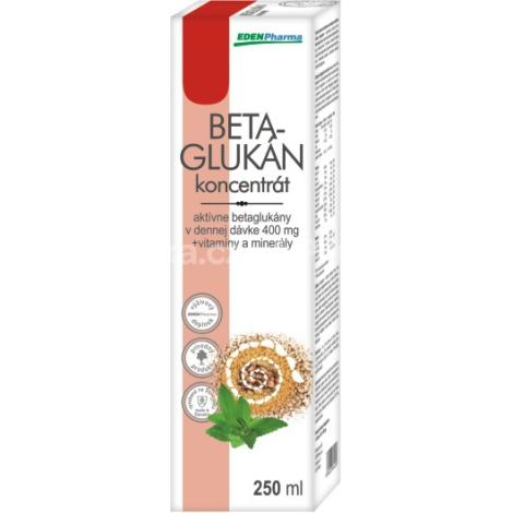 Edenpharma Betaglukán koncentrát junior 250 ml