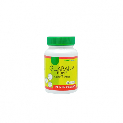 Edenpharma Guarana Forte 30+10tbl