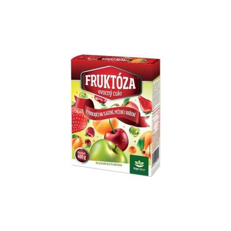 Fruktóza ovocný cukor 400g