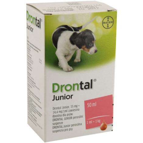 Drontal Junior perorálna suspenzia 50 ml