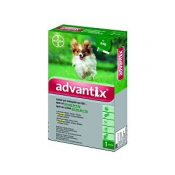 Advantix Spot On pre psy do 4kg 1x0,4ml