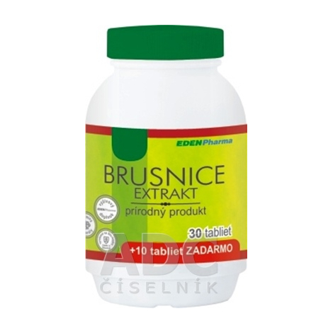 Edenpharma Brusnice extrakt 30+10tbl