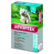 Advantix Spot On pre psy 4-10 kg 1x0,4ml