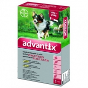 Advantix Spot On pre psy 10-25kg 4x2,5ml