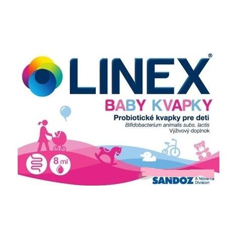 Linex baby kvapky 8 ml
