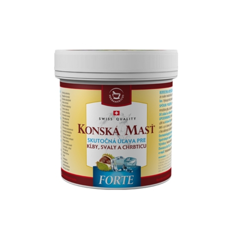 Konská masť Forte chladivá 500 ml