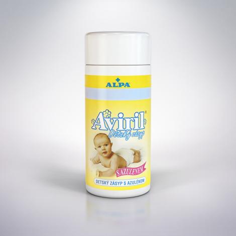 Aviril detský zásyp (sypačka) s azulénom 100 g