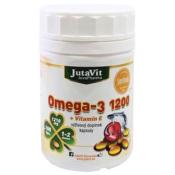 JutaVit Omega-3 1200 + vitamín E 100 cps