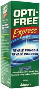 523b8106e OPTI-FREE Express roztok na šošovky 120 ml - Lieky24