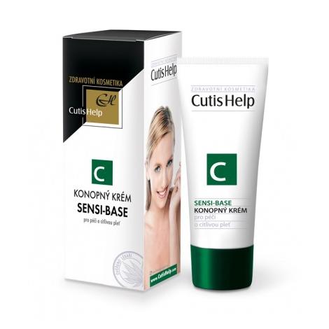 CutisHelp SENSI-BASE konopný pleťový krém 50 ml