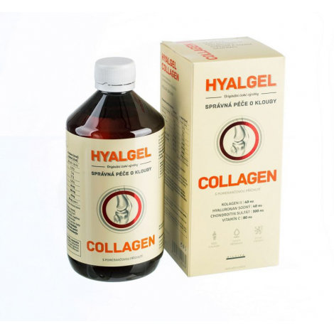 Hyalgél collagen 500 ml