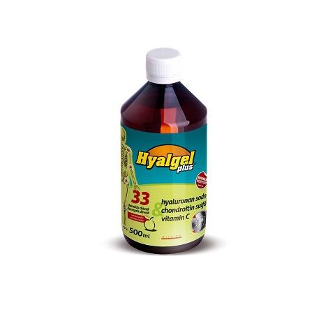 Hyalgel Plus pomarančová príchuť 500 ml