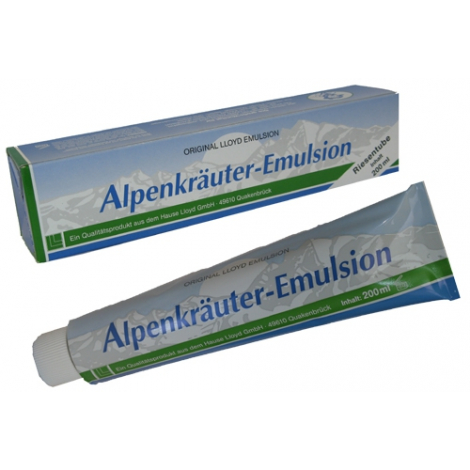 Alpenkräuter emulsion 200ml