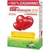 GS Koenzým Q10 s biotínom 60 mg 30 + 30 kapsúl