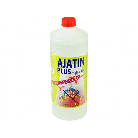 Ajatin plus roztok 10 % 1000 ml