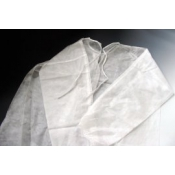 OneMed Jednorázový plášť biely 1 ks