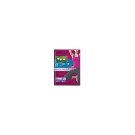 Depend Active-Fit L pre ženy inkontinenčné nohavičky 8 ks