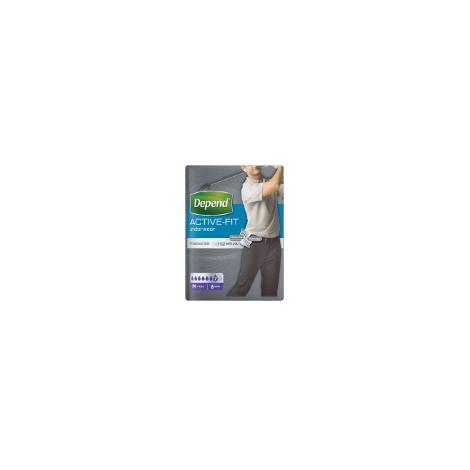 Depend Active-Fit L pre mužov inkontinenčné nohavičky 8 ks