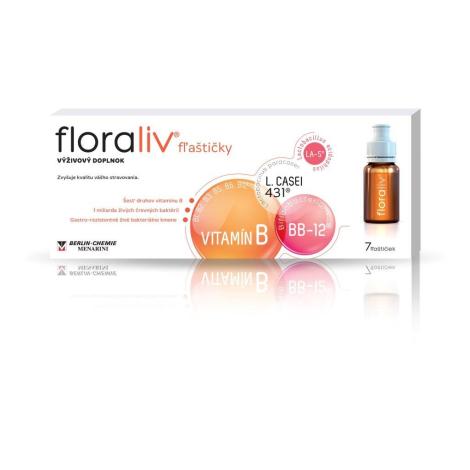 Floraliv 7 fľaštičiek akcia 5+1 ZDARMA