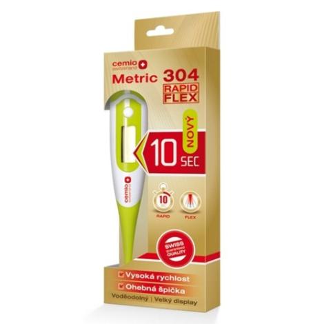 Cemio Metric 304 Rapid Flex Digitálny Teplomer 1ks