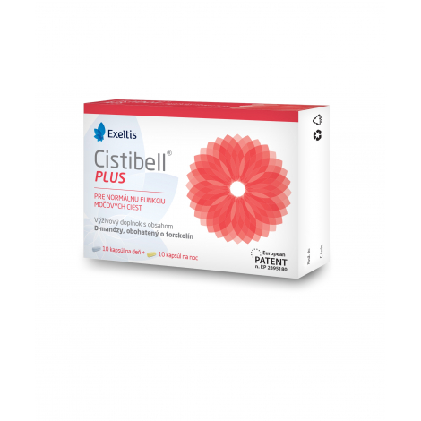 Cistibell plus 20 kapsúl