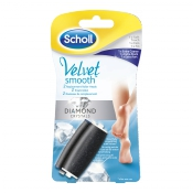 Scholl Velvet smooth Diamond náhradná hlavica extra hrubá 2ks
