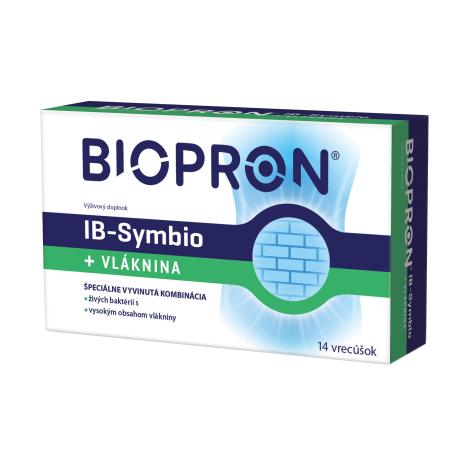 Biopron IB-Symbio + Vláknina 14 vreciek