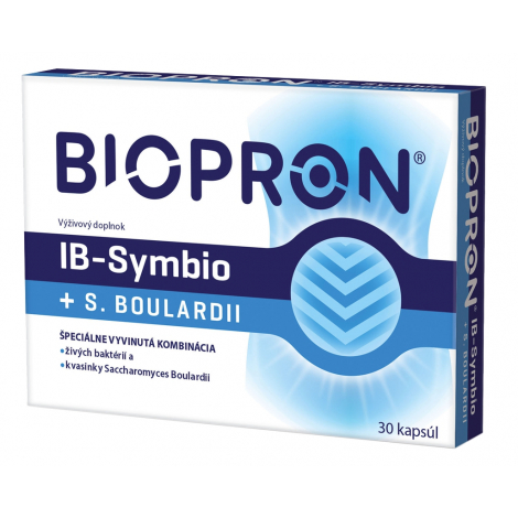 Biopron IB-Symbio + S.Boulardii 30 cps