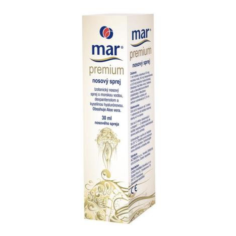MAR PREMIUM izotonický nosový sprej 30 ml