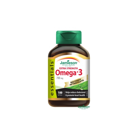 JAMIESON OMEGA-3 EXTRA 700 mg 100 cps