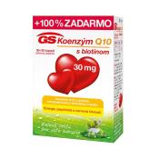 GS Koenzým Q10 30 mg 30 + 30 cps