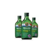 Mollers Omega 3 rybí olej Natur 250 ml