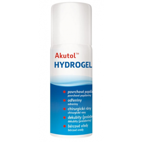 Akutol Hydrogél sprej 75 ml