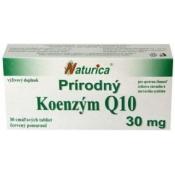 Naturica Prírodný KOENZÝM Q10 30 mg 30tbl
