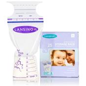 Lansinoh vrecká na skladovanie materského mlieka 25 ks