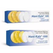 Maxi-Kalz 1000 mg 10 šumivých tabliet