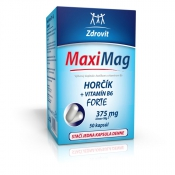 Zdrovit Maximag Horčík forte 375 mg + B6 50 cps