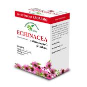 HerbVitea Echinacea s vitamínom C a zinkom 40 tbl