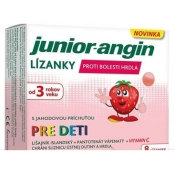 Junior-angin lízanky 8 ks