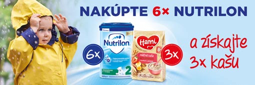 Nutrilon 6pack + Hami