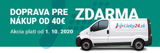 Doprava zdarma 40 2020