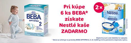 Beba + Nestle kaša
