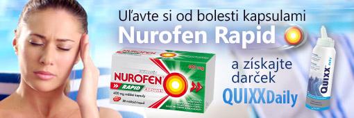 Nurofen Rapid + Quixx Daily